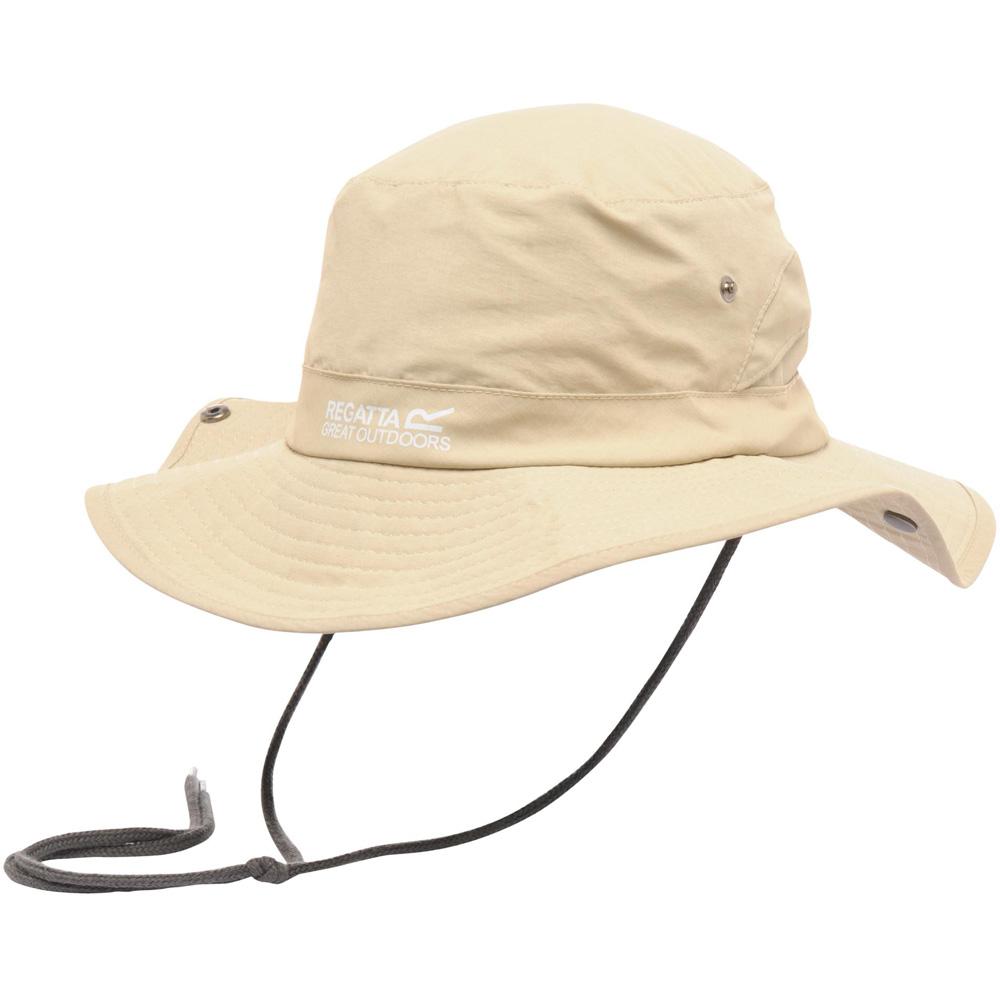 Product image of Regatta Mens Hiking Wide Brim Hat RUC021 Brown