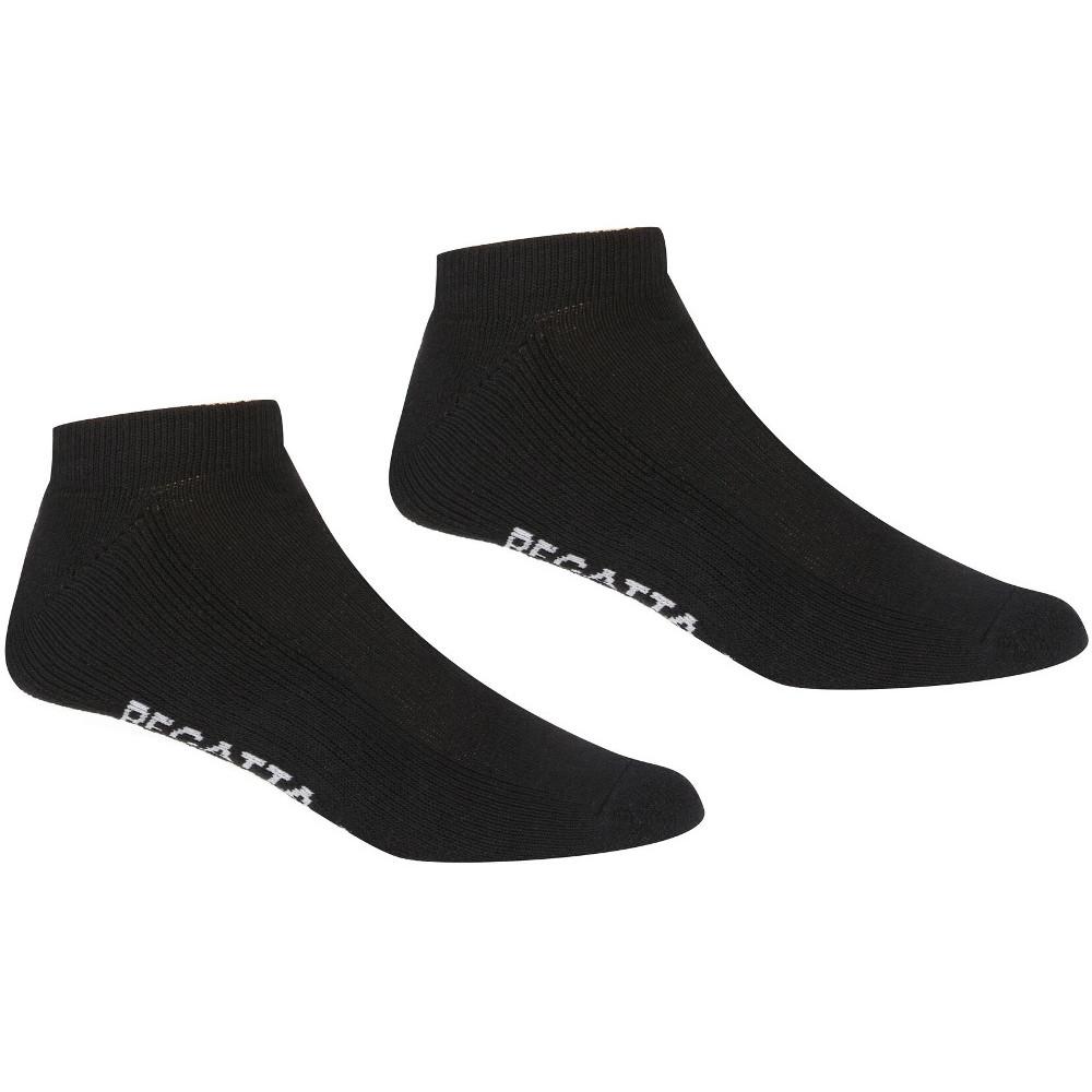 Regatta Unisex 5 Pack Durable Comfort Trainer Socks Uk Size 9-12
