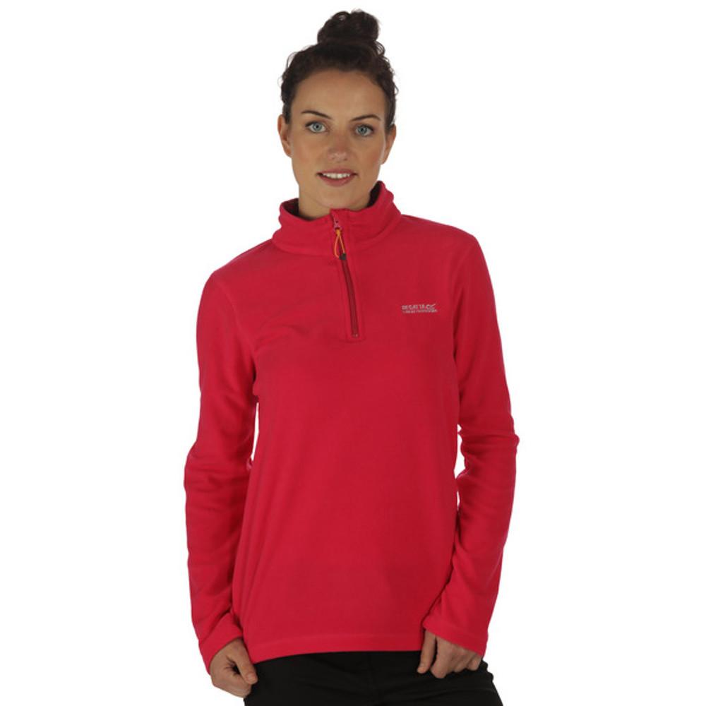 Regatta Womens/ladies Sweethart Half Zip Lightweight Fleece Top 18 - Bust 43 (109cm)