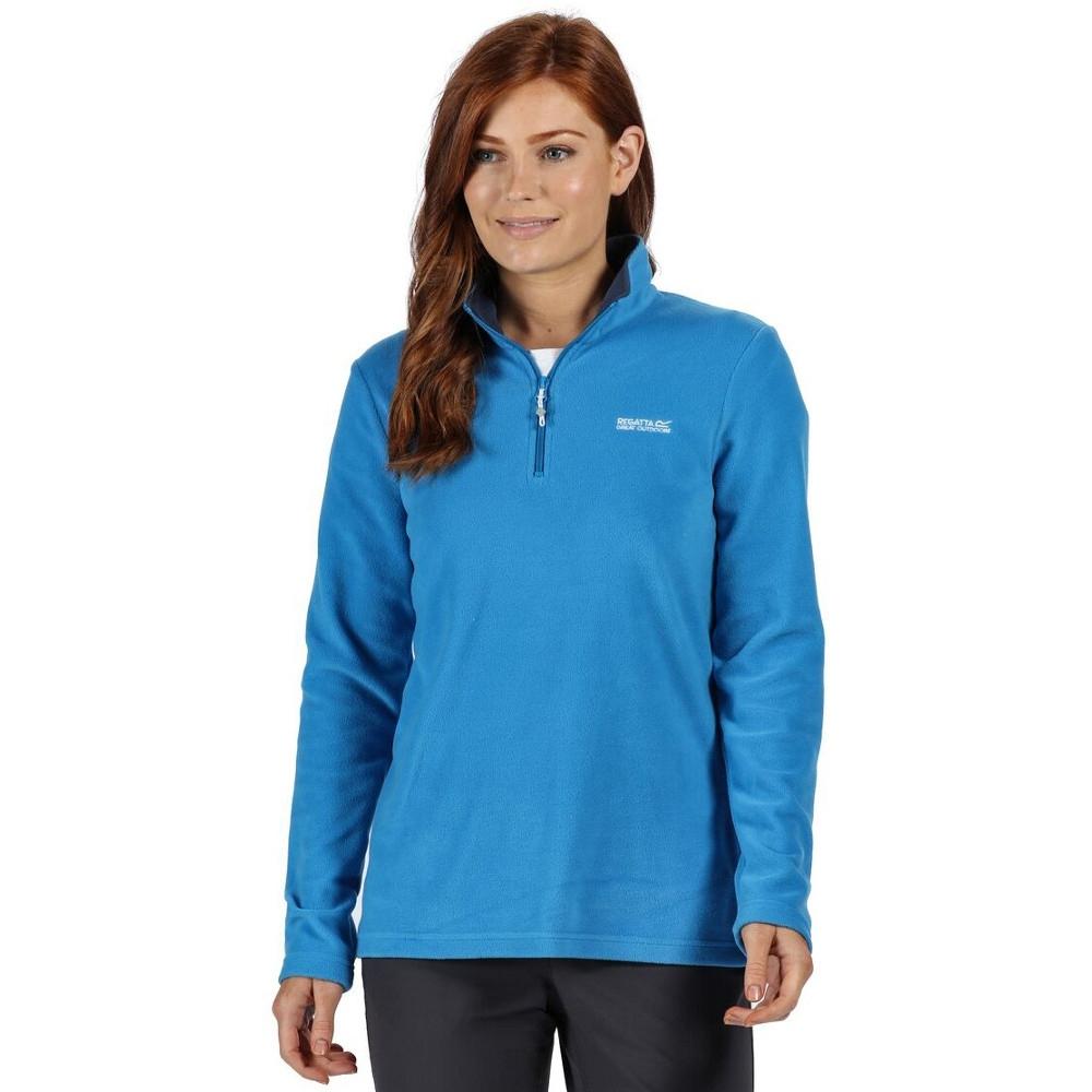 Regatta Ladies Sweethart Soft Half Zip Outdoor Walking Fleec