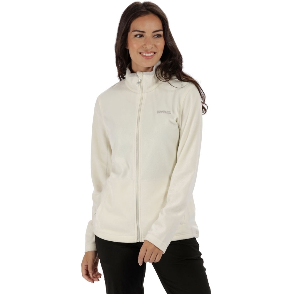 Regatta Womens/ladies Clemance Ii Full Zip Medium Weight Fleece Jacket 8 - Bust 32 (81cm)