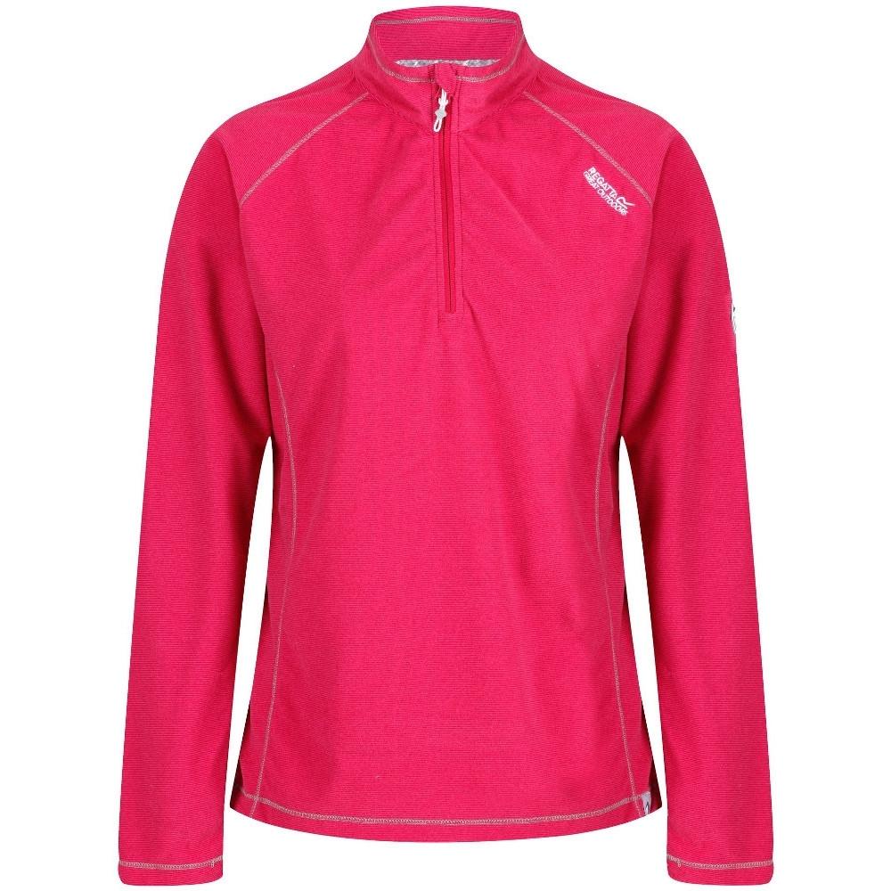 Regatta Womens/ladies Montes Half Zip Lightweight Microfleece Top 20 - Bust 45 (114cm)