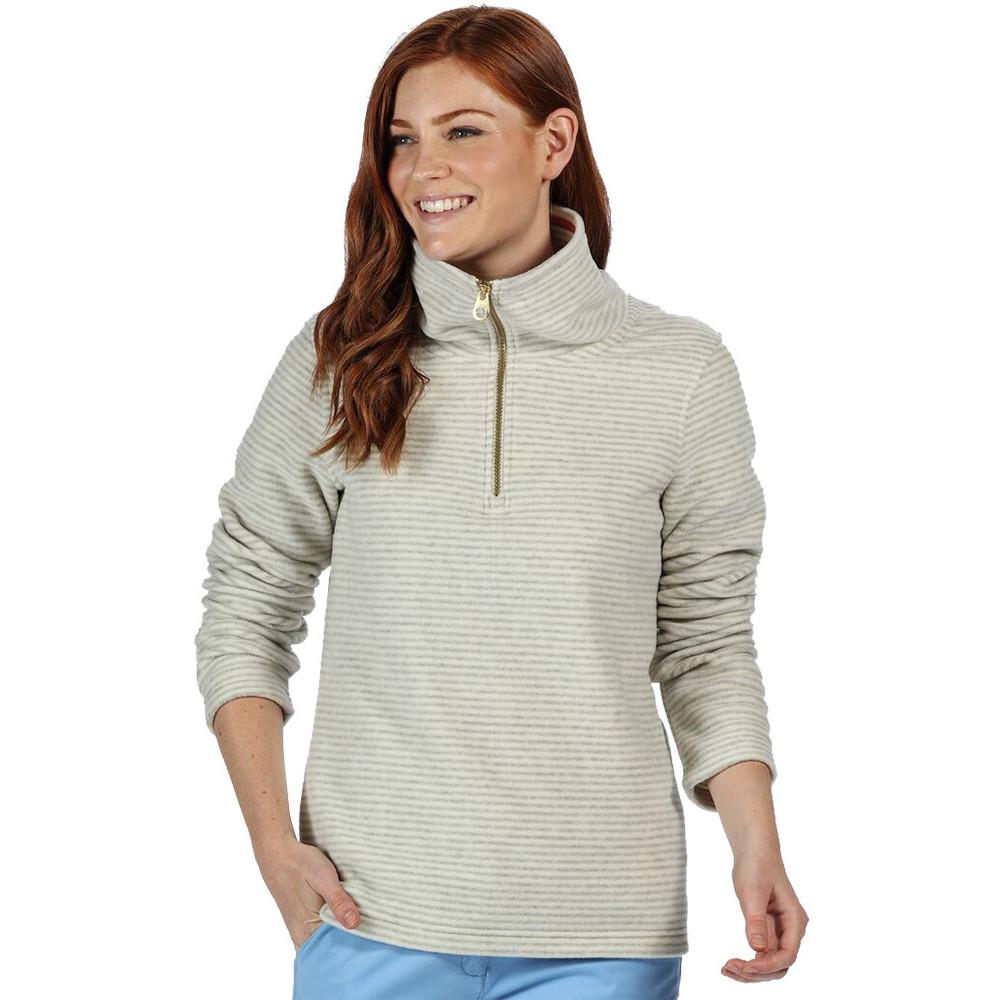 Regatta Womens/ladies Kenger Quarter Zip Pull Over Walking Fleece 8 - Bust 32 (81cm)