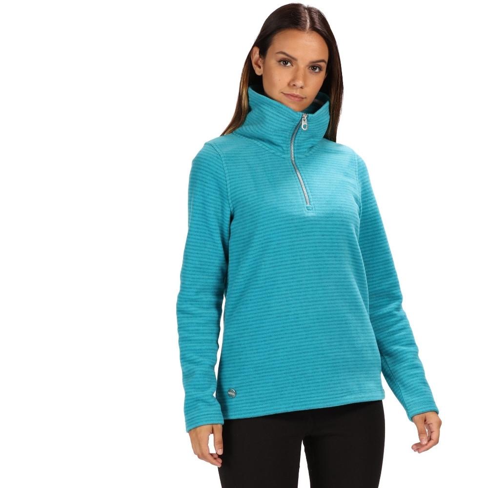 Regatta Womens/Ladies Solenne 1/4 Zip Symmetry Fleece Casual