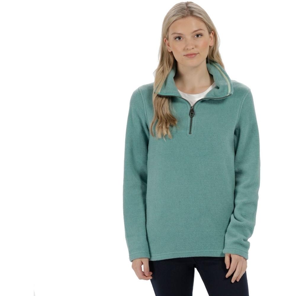 Regatta Womens/Ladies Solenne 1/4 Zip Symmetry Fleece Casual Jacket UK Size 10 - Chest 34 (86cm)