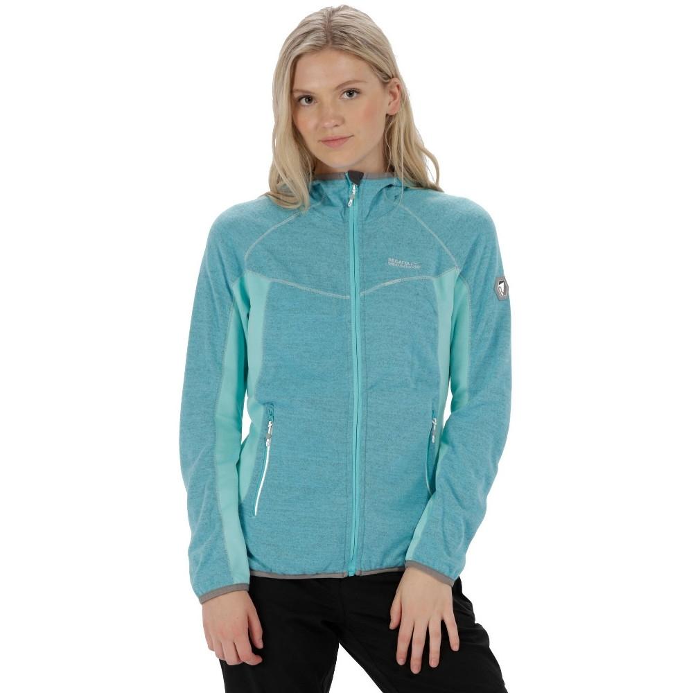 Regatta Womens/Ladies Willowbrook Full Zip Hooded Fleece