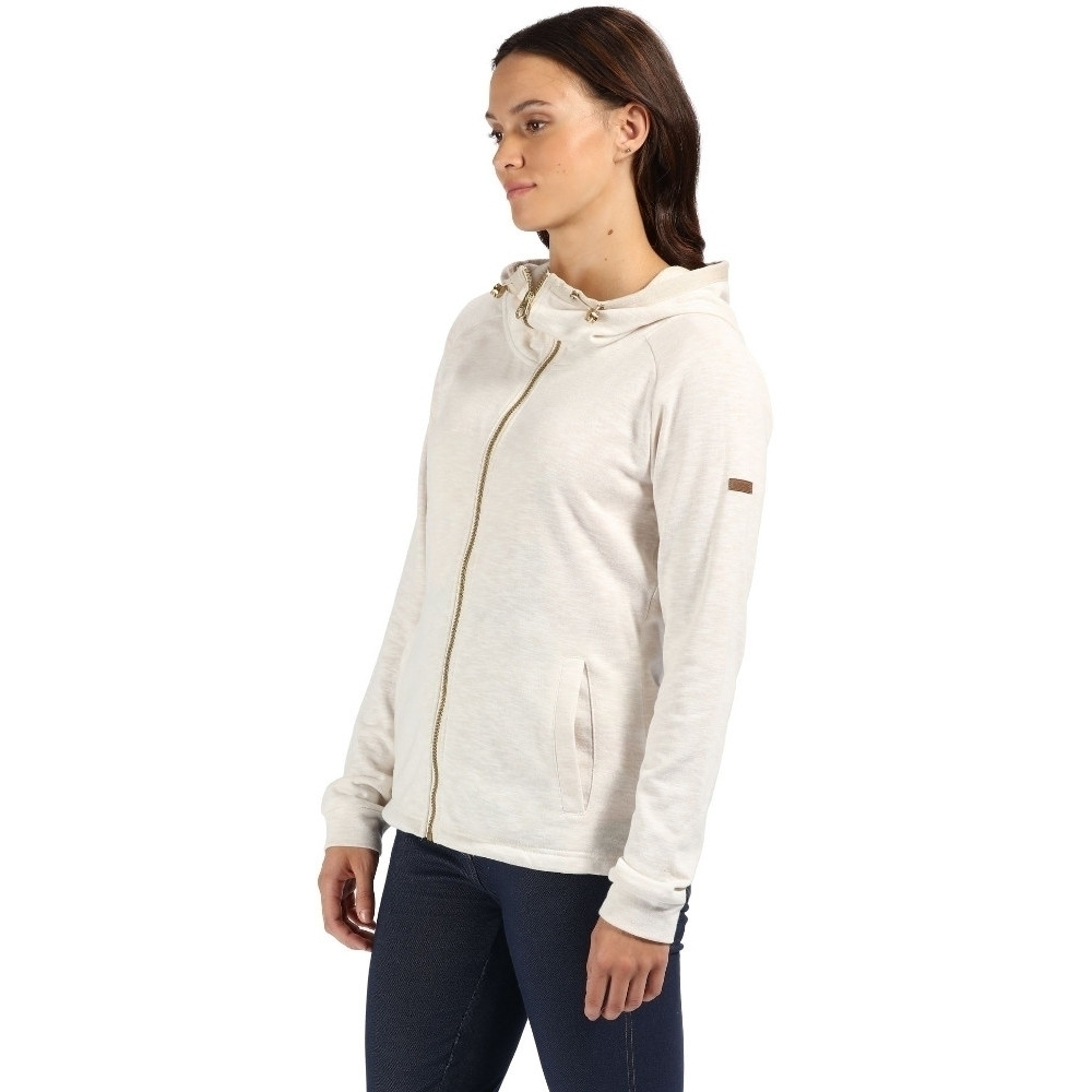 Regatta Womens Ramira Full Zip Drawcord Fleece Jacket 16 -