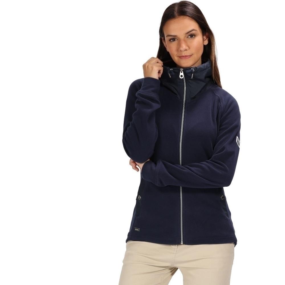 Regatta Womens Danique Full Zip Symmetry Micro Fleece Jacket
