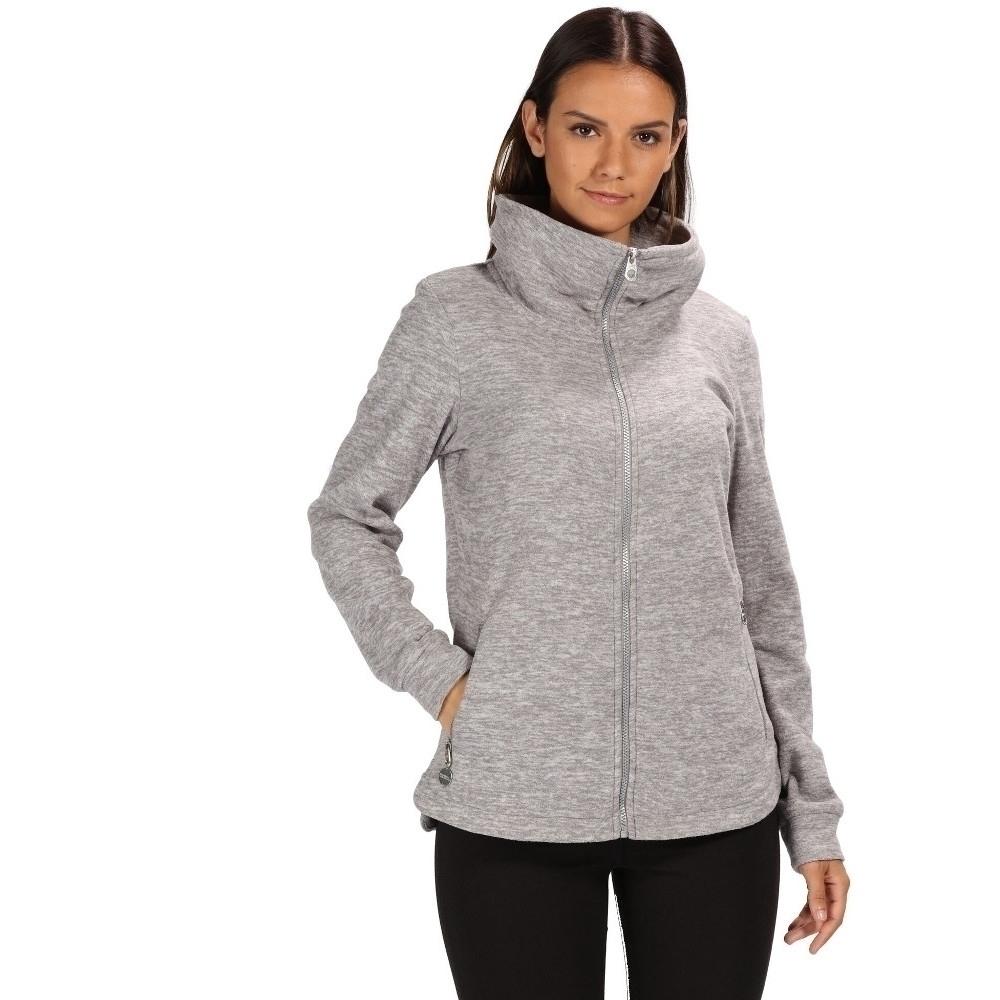 Regatta Womens Ezri Full Zip Stand Up Collar Fleece Jacket 1