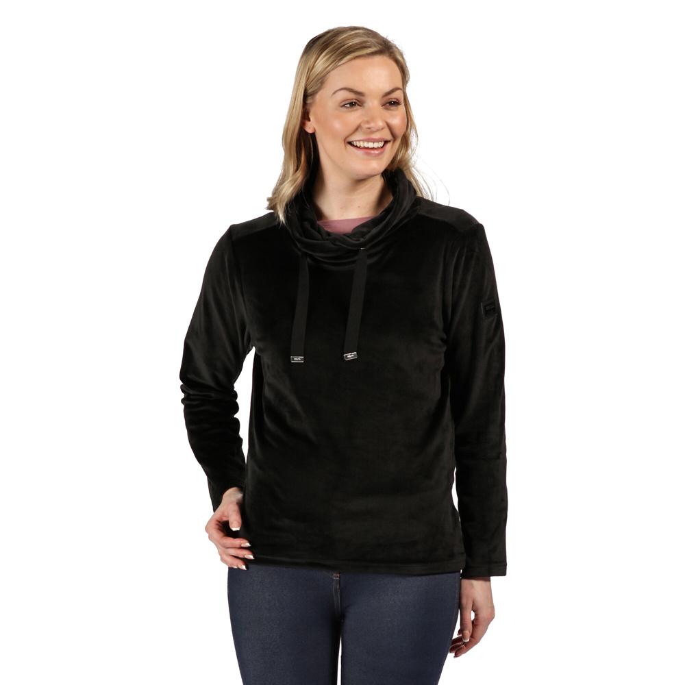 Regatta Womens Hannelore Overhead Fluffy Fleece Jacket 14 - Bust 38 (97cm)