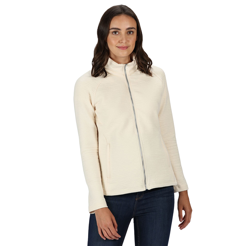 Regatta Womens Sadiya Full Zip Fleece Jacket 8 - Bust 32 (81cm)