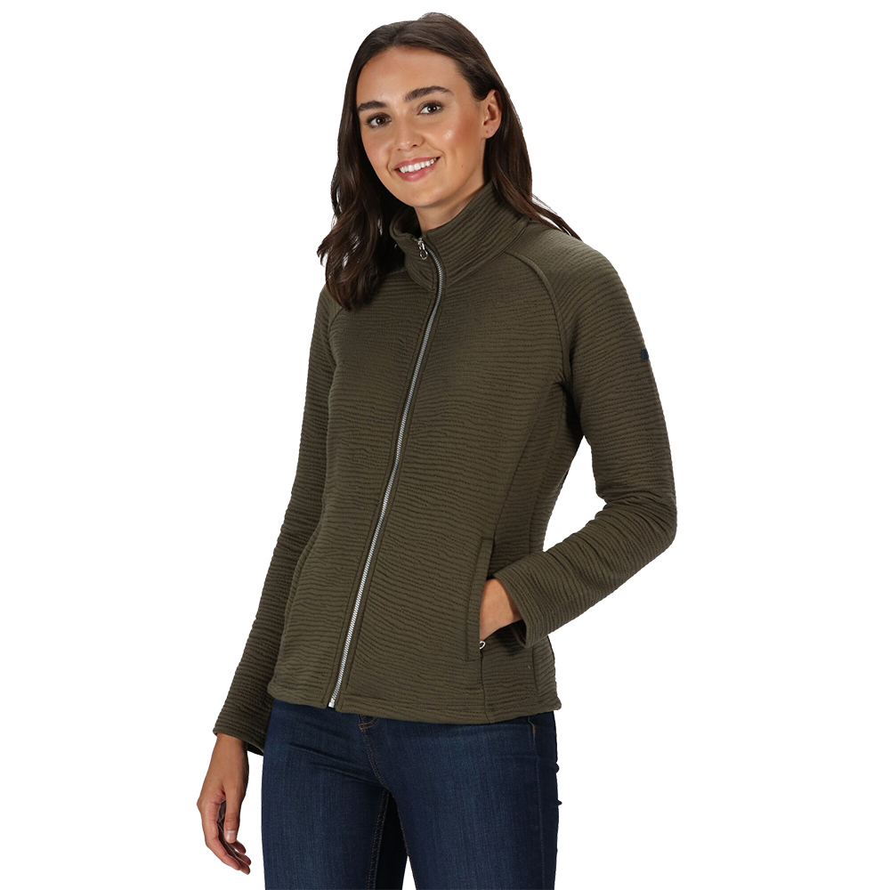 Regatta Womens Sadiya Full Zip Fleece Jacket 12 - Bust 36 (92cm)