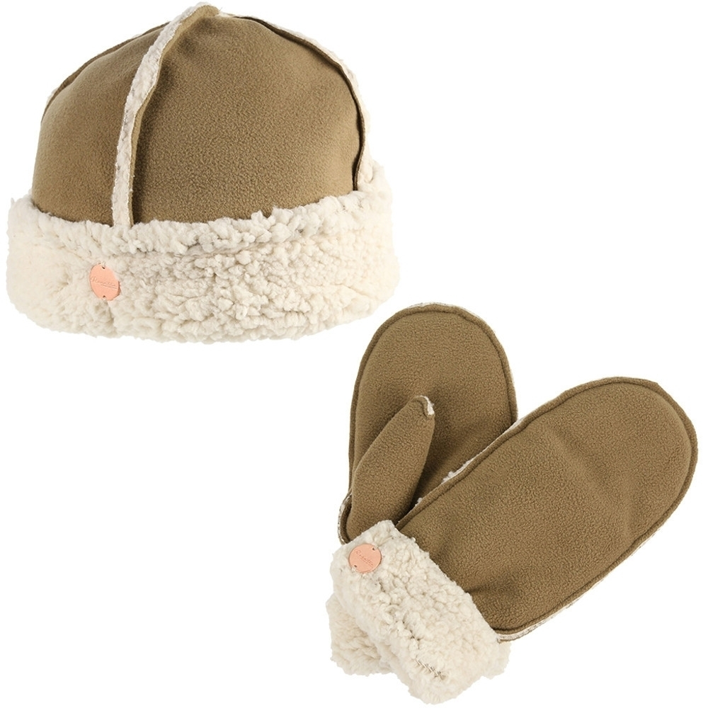 Regatta Womens/ladies Corbina Winter Knit Walking Hat And Gloves Set Large / Extra Large