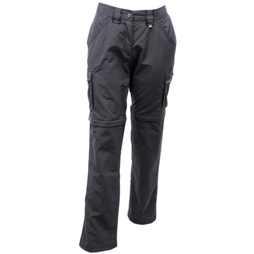 Product image of Regatta Womens/Ladies Catla Zip Off Convertible Walking Trousers UK 10 - Waist 27' (68cm)  Inside Le