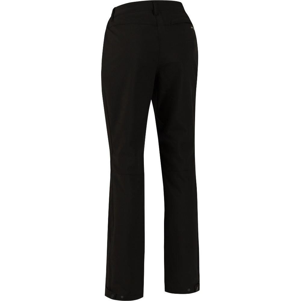 Regatta Womens/ladies Geo Ii Softshell Wind Resistant Walking Trousers 8s - Waist 25 (63cm)  Inside Leg 29