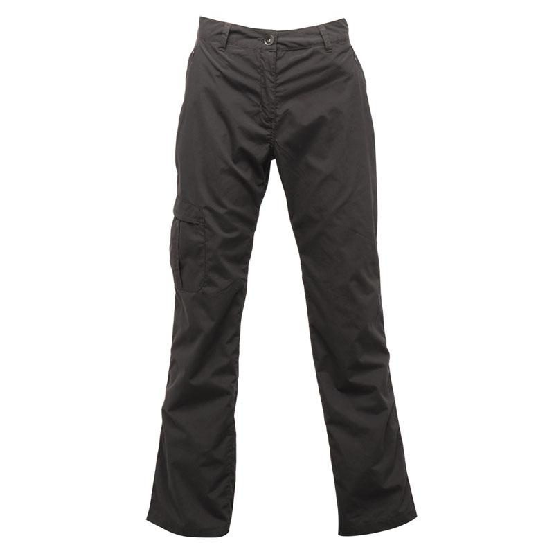 Product image of Regatta Womens Crossfell Multi Pocketed Trousers Iron Regular Leg
