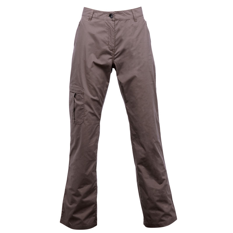 Product image of Regatta Womens Crossfell Multi Pocketed Trousers Brown