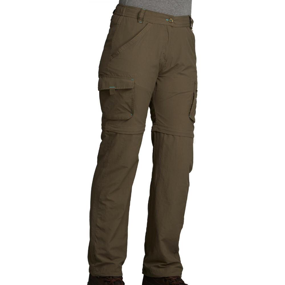 Product image of Regatta Womens/Ladies Catla II Zip Off Convertible Walking Trousers UK 16 - Waist 33' (84cm)  Inside