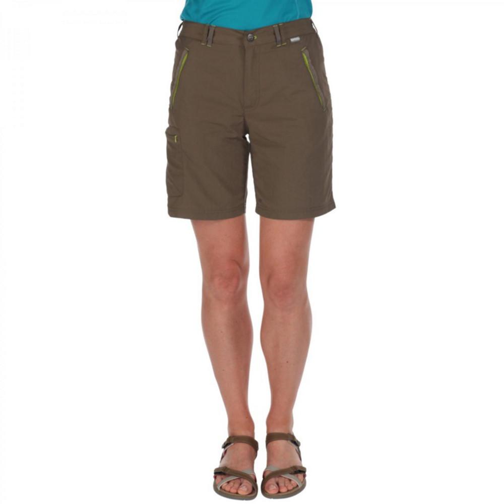 Product image of Regatta Womens/Ladies Chaska Quick Dry Nylon Walking Shorts 8 - Waist 25' (63cm)  Inside Leg 31'