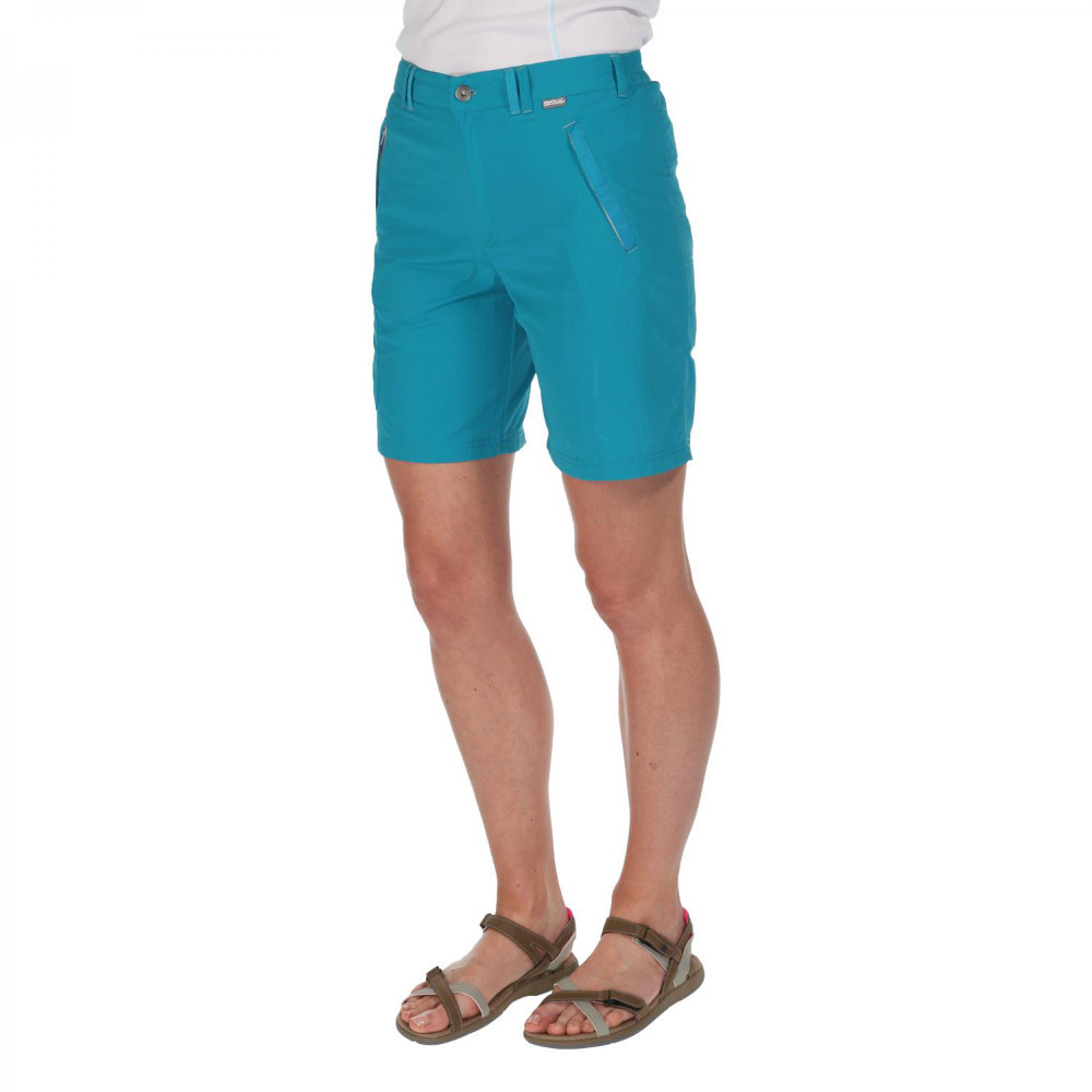 Product image of Regatta Womens/Ladies Chaska Quick Dry Nylon Walking Shorts 10 - Waist 27' (68cm)  Inside Leg 31'