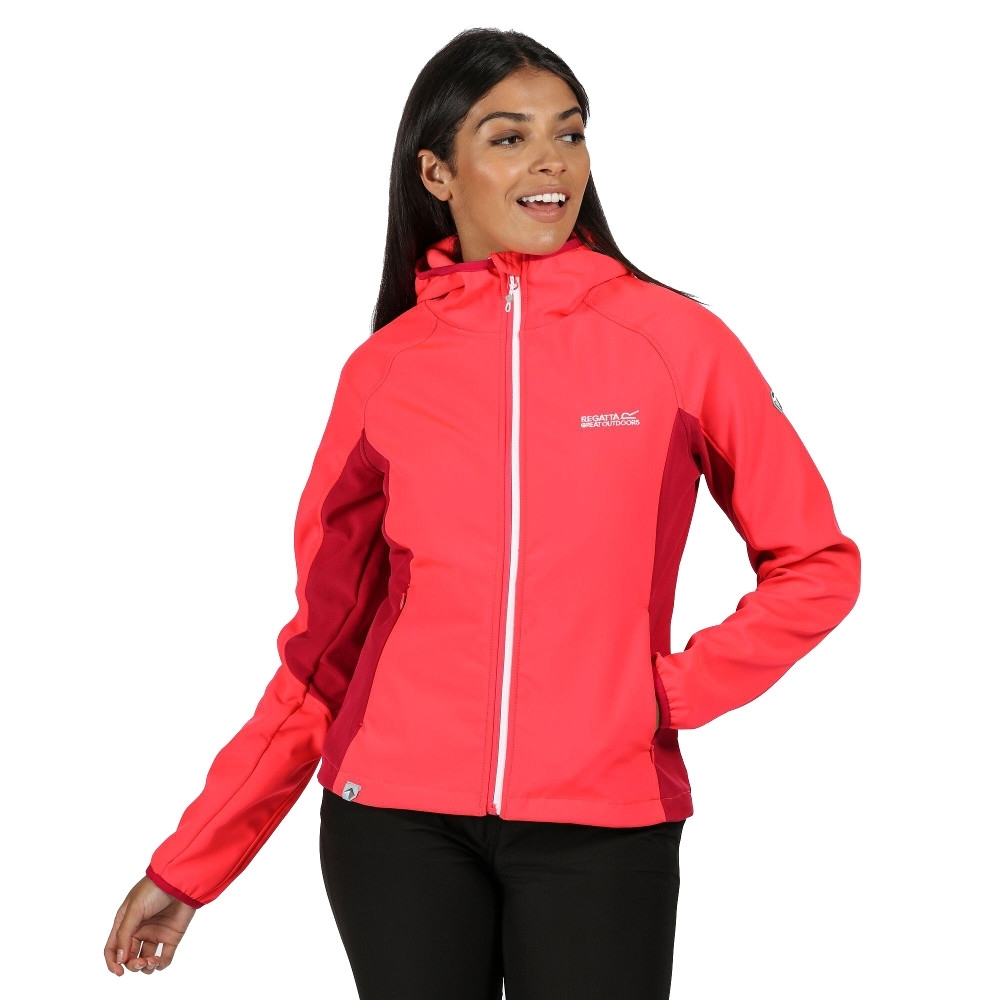 Regatta Womens/ladies Arec Ii Durable Wind Resistant Jacket Coat 12 - Bust 36 (92cm)