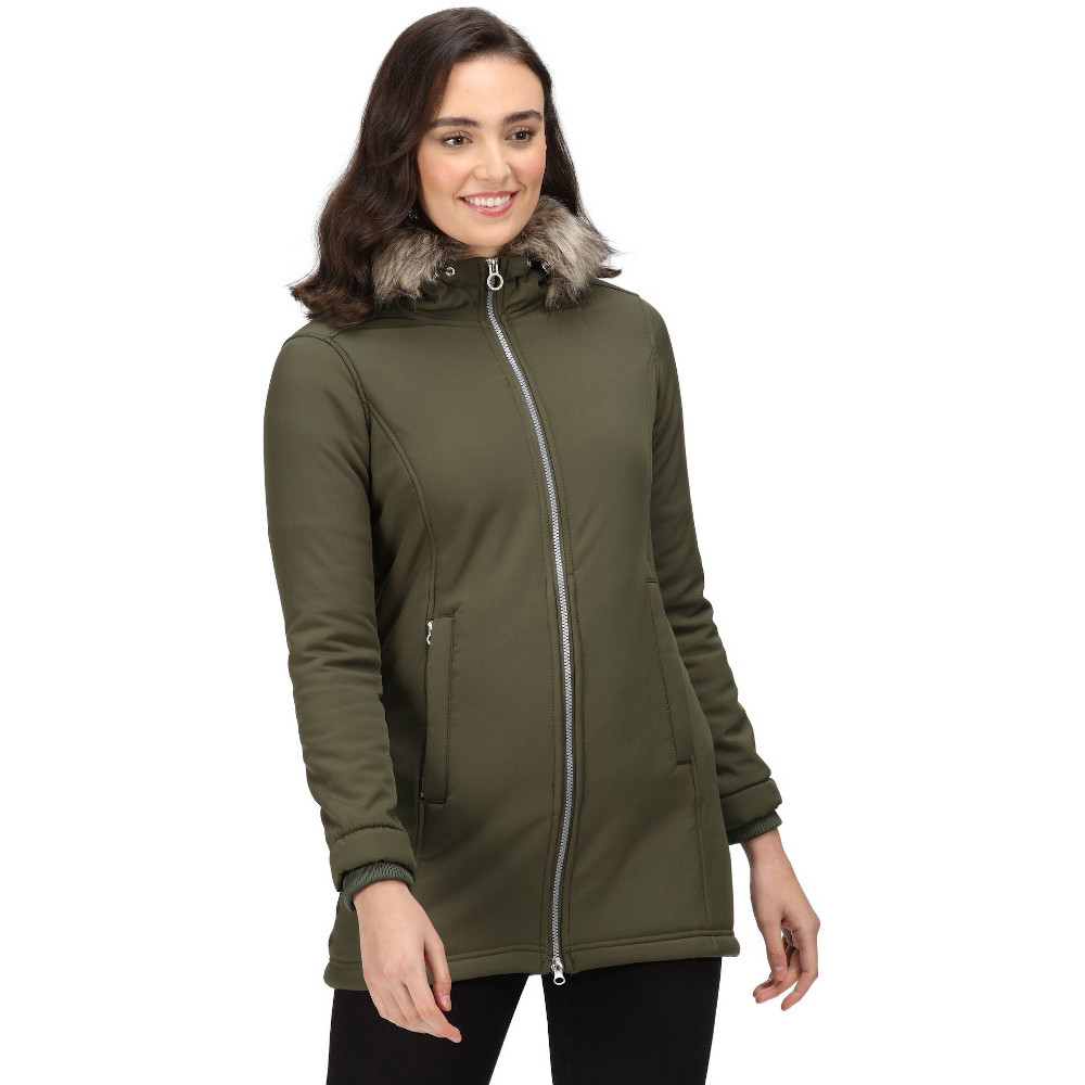 Regatta Mens Hewitts Iv Technical Water Repellent Softshell Jacket 3xl - Chest 49-51 (124.5-129.5cm)