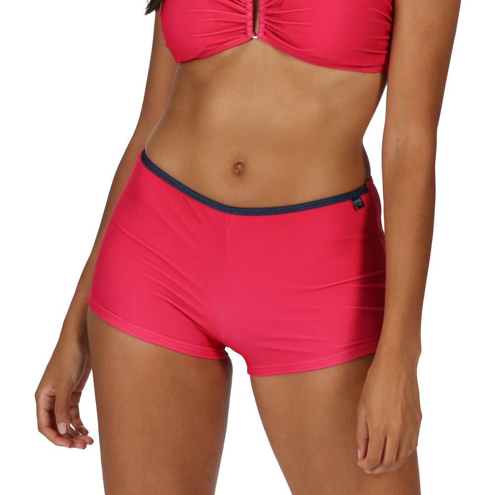 Regatta Womens/ladies Aceana Bikini All Over Printed Swimwear Shorts 8 - Waist 25 (63cm)