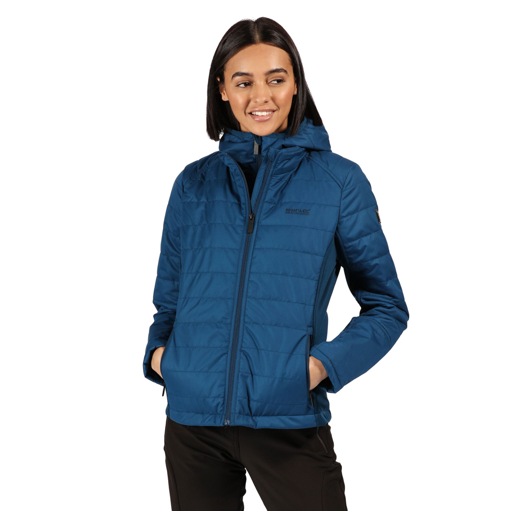 Regatta Womens Winsbury Warm Hooded Puffa Coat Jacket 16 -
