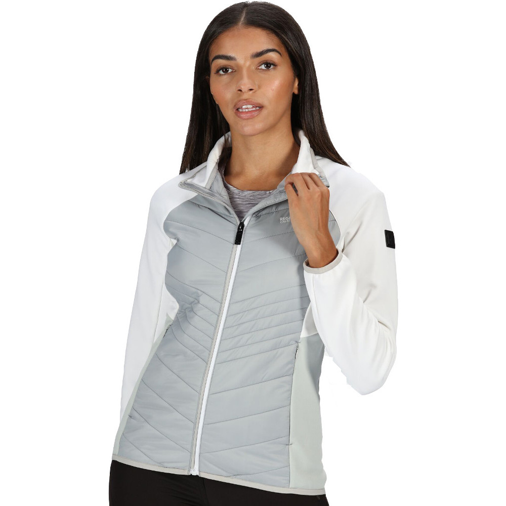 Regatta Womens Clumber Hybrd Warm Softshell Coat Jacket 8 - Bust 32 (81cm)
