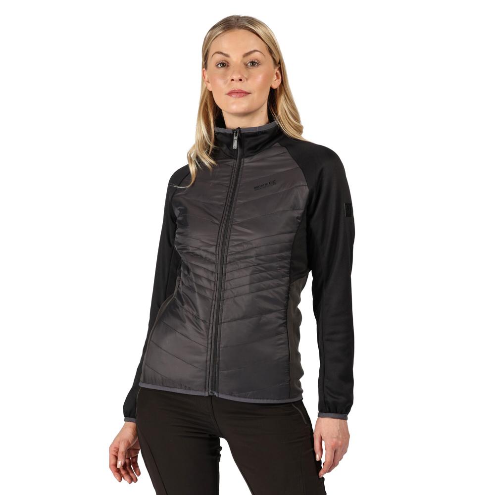 Regatta Womens Clumber Hybrd Warm Softshell Coat Jacket 10 - Bust 34 (86cm)