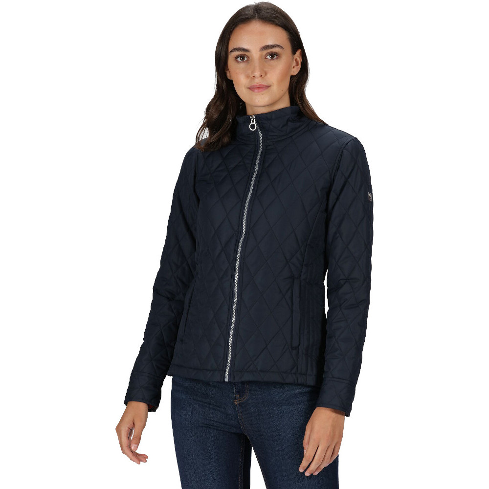Regatta Womens Charna Insulated Quilted Casual Coat Jacket 12 - Bust 36 (92cm)