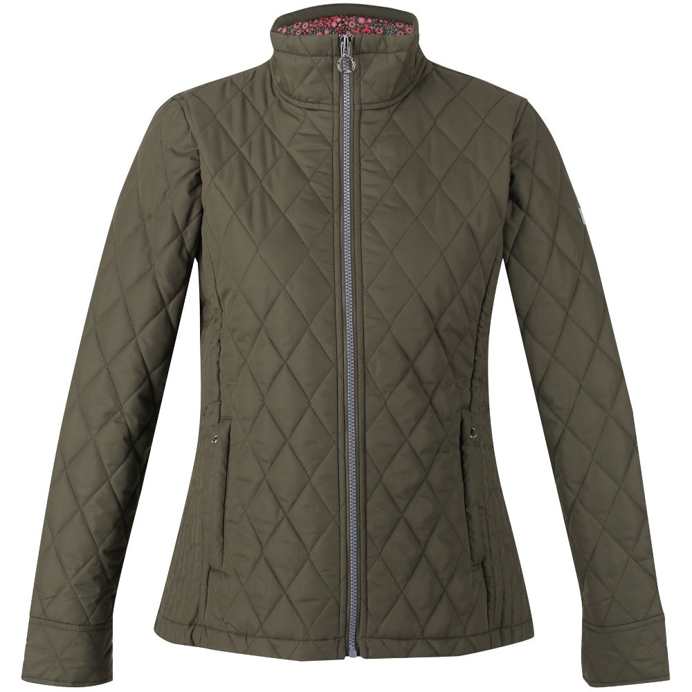 Regatta Womens Charna Insulated Quilted Casual Coat Jacket 18 - Bust 43 (109cm)