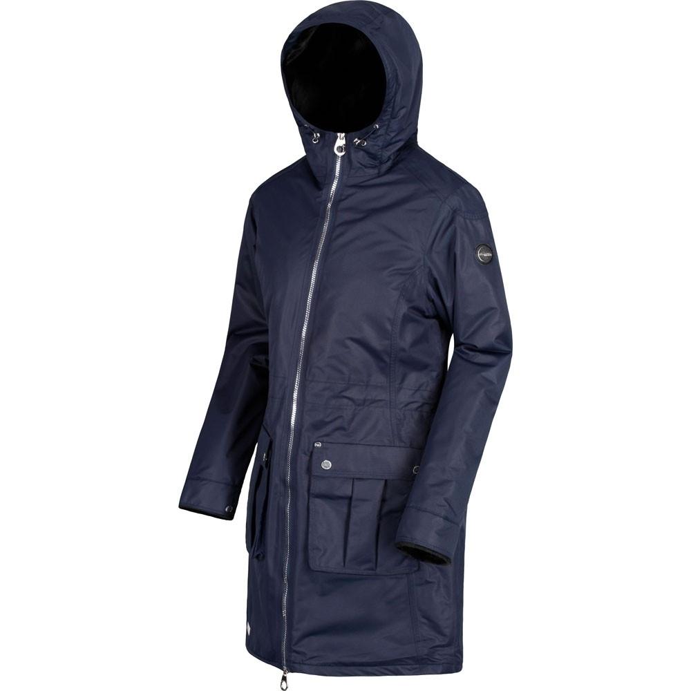 Regatta Womens/Ladies Romina Breathable Waterproof Long Length Jacket 22 - Bust 48 (122cm)