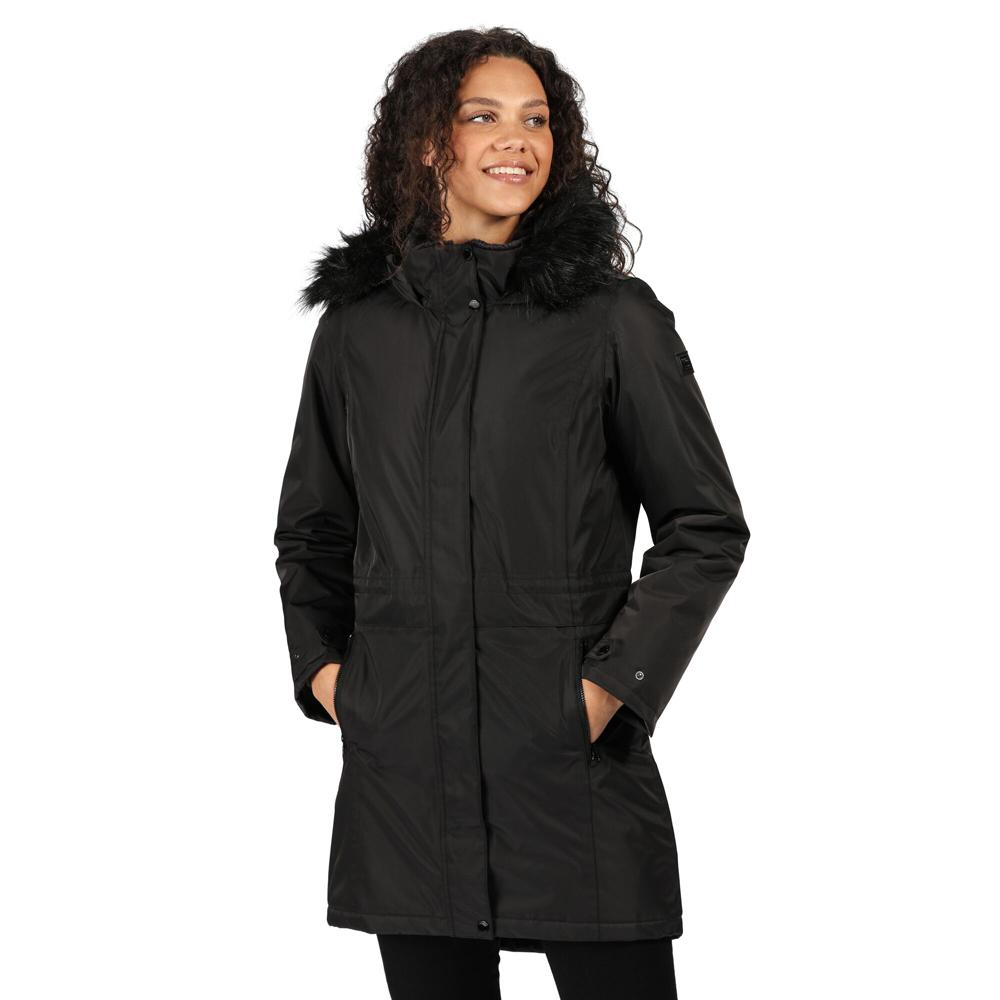 Regatta Womens Lexis Waterproof Insulated Parka Coat Jacket 16 - Bust 40 (102cm)