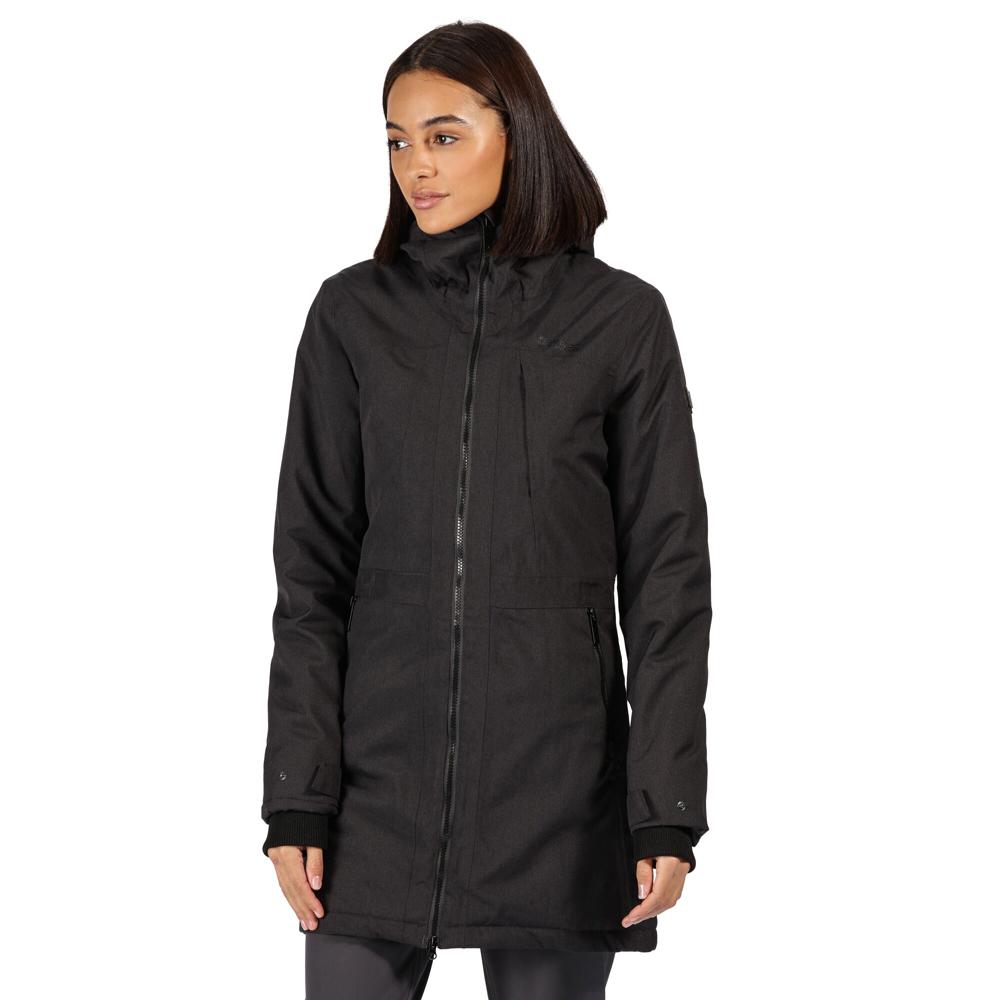 Regatta Womens/ladies Cross Penine Iii Waterproof Hood Hybrid Jacket 20 - Bust 45 (114cm)