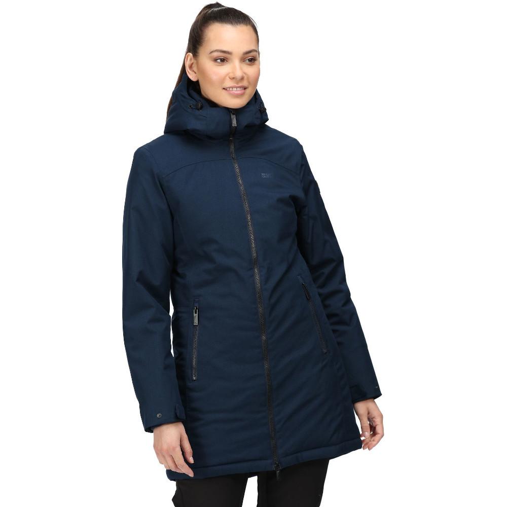 Regatta Womens Voltera III Waterproof Hooded Jacket Coat 20