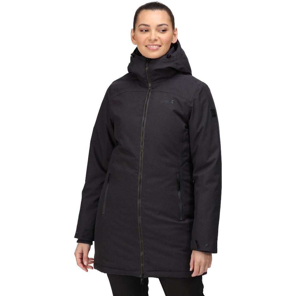 Regatta Womens Voltera III Waterproof Hooded Jacket Coat 16