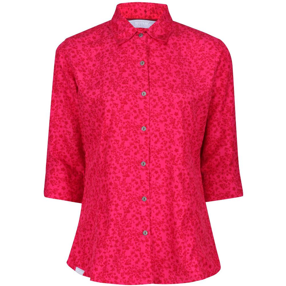 Regatta Womens Nimis Iii Wicking Short Sleeve Shirt 8 - Bust 32 (81cm)