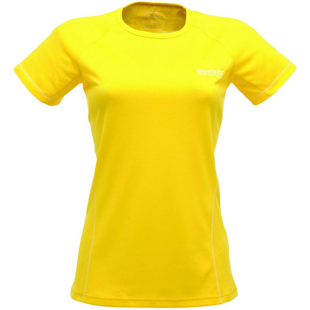 Product image of Regatta Ladies Presley Technical Wicking T Shirt Yellow RWT084