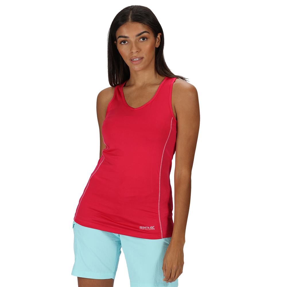 Regatta Womens Varey Extol Stretch Active Wicking T Shirt 10 - Bust 34 (86cm)