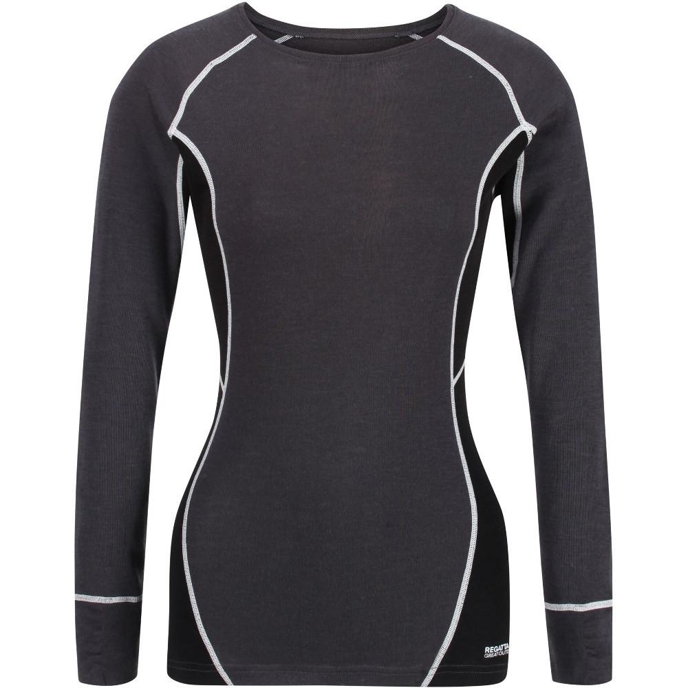 Regatta Womens/ladies Beru Merino Wool Long Sleeve Baselayer T Shirt 8 - Bust 32 (81cm)