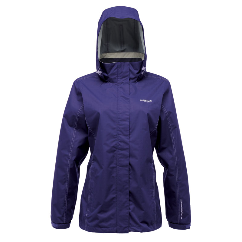 Regatta Womens Laska Waterproof and Breathable Jacket Purple