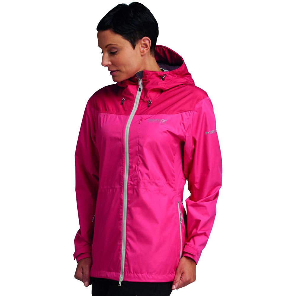 Regatta Ladies Outflow Waterproof Breathable Hooded Jacket