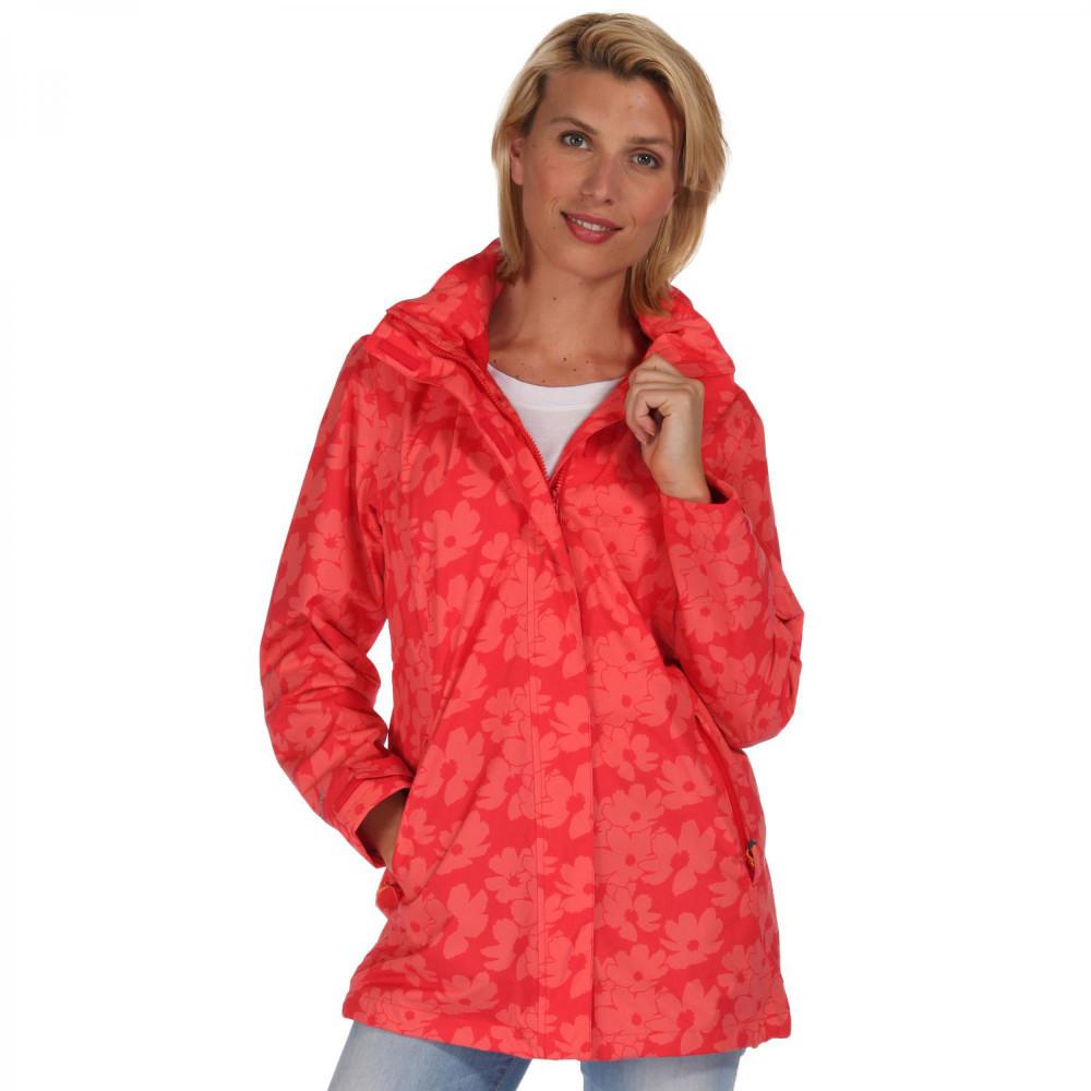Regatta Womens/Ladies Patience Printed Waterproof Hooded