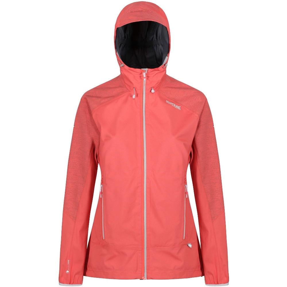 Image of Regatta Womens/Ladies Montegra Waterproof Durable Hooded Jacket Coat UK Size 8 - Chest 32' (81cm)