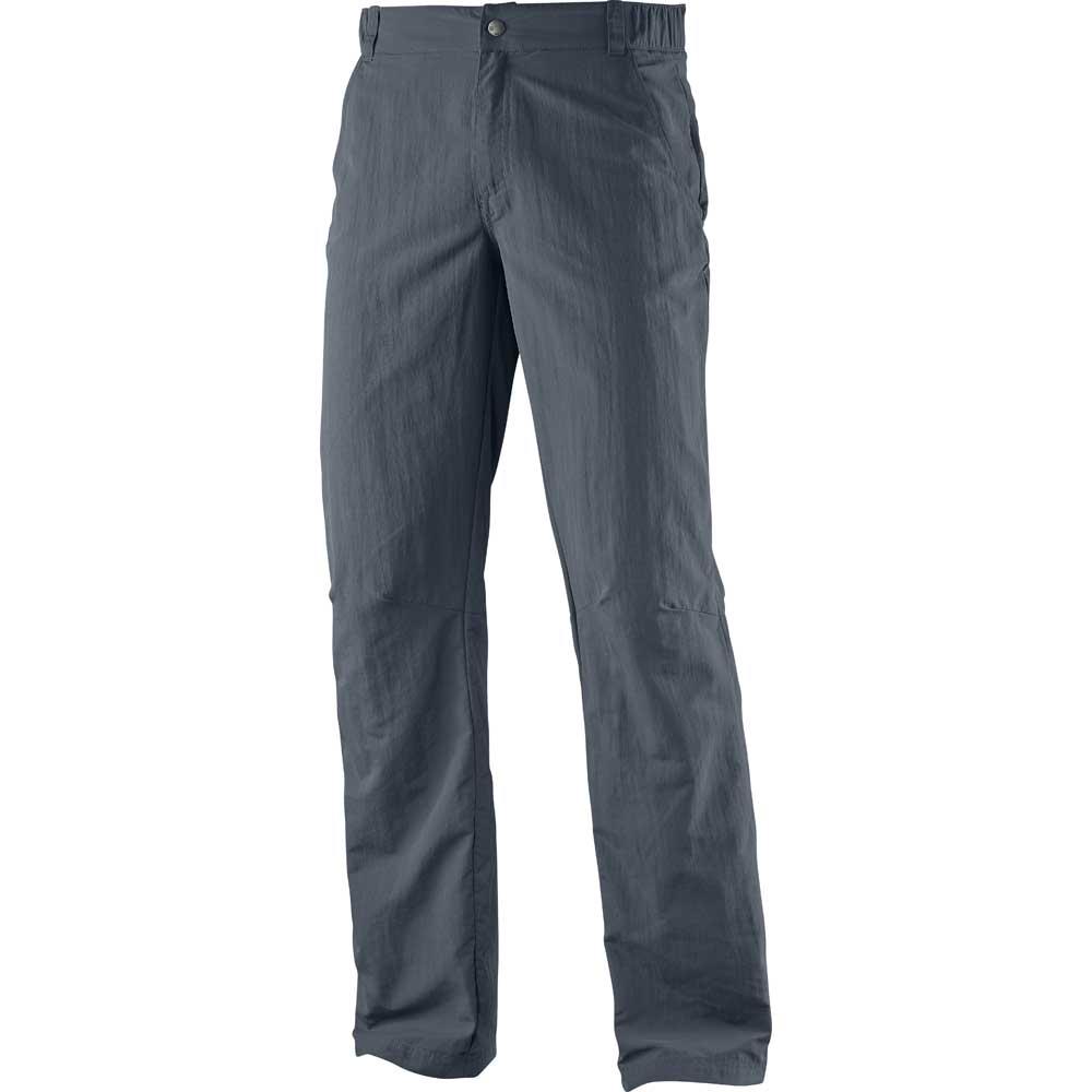 Salomon Mens Elemental Ad Pant Combat Walking Trousers L370845 Grey