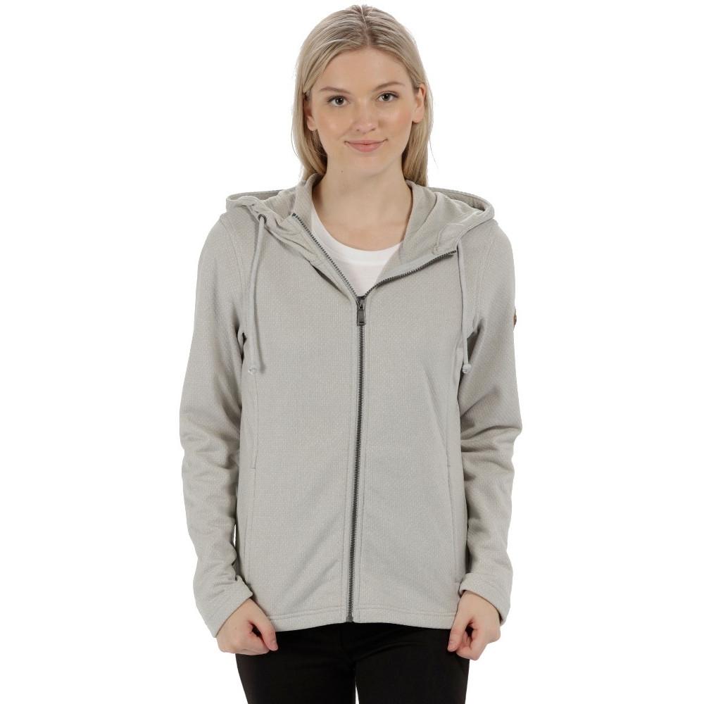 Regatta Womens/Ladies Lowes Full Zip Two Tone Hooded Fleece