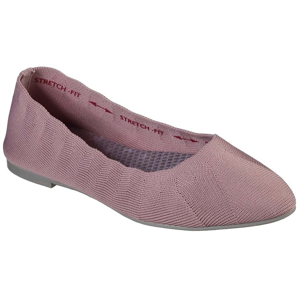 Skechers Womens Cleo Bewitch Wide Fit Slip on Shoes UK Size