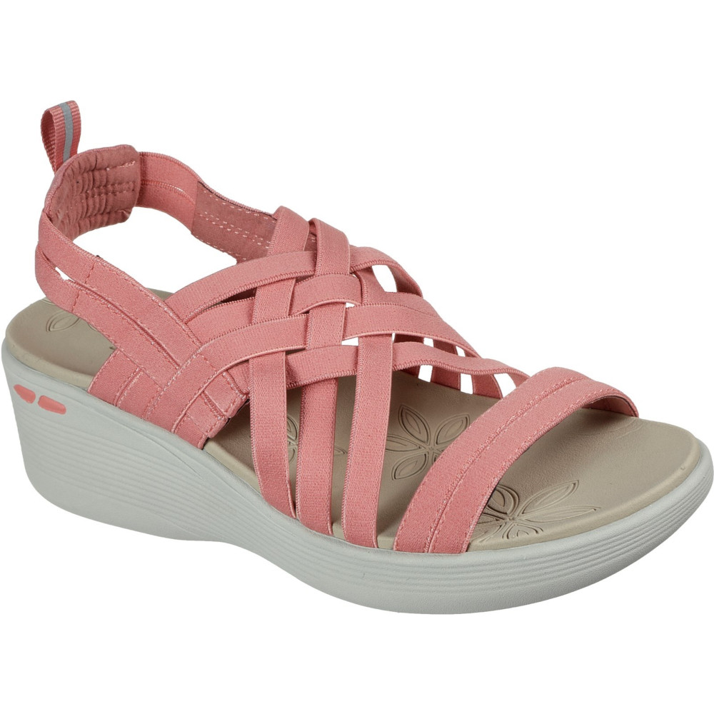 Skechers Womens Pier-lite Wedge Summer Sandals Uk Size 6 (eu 39)