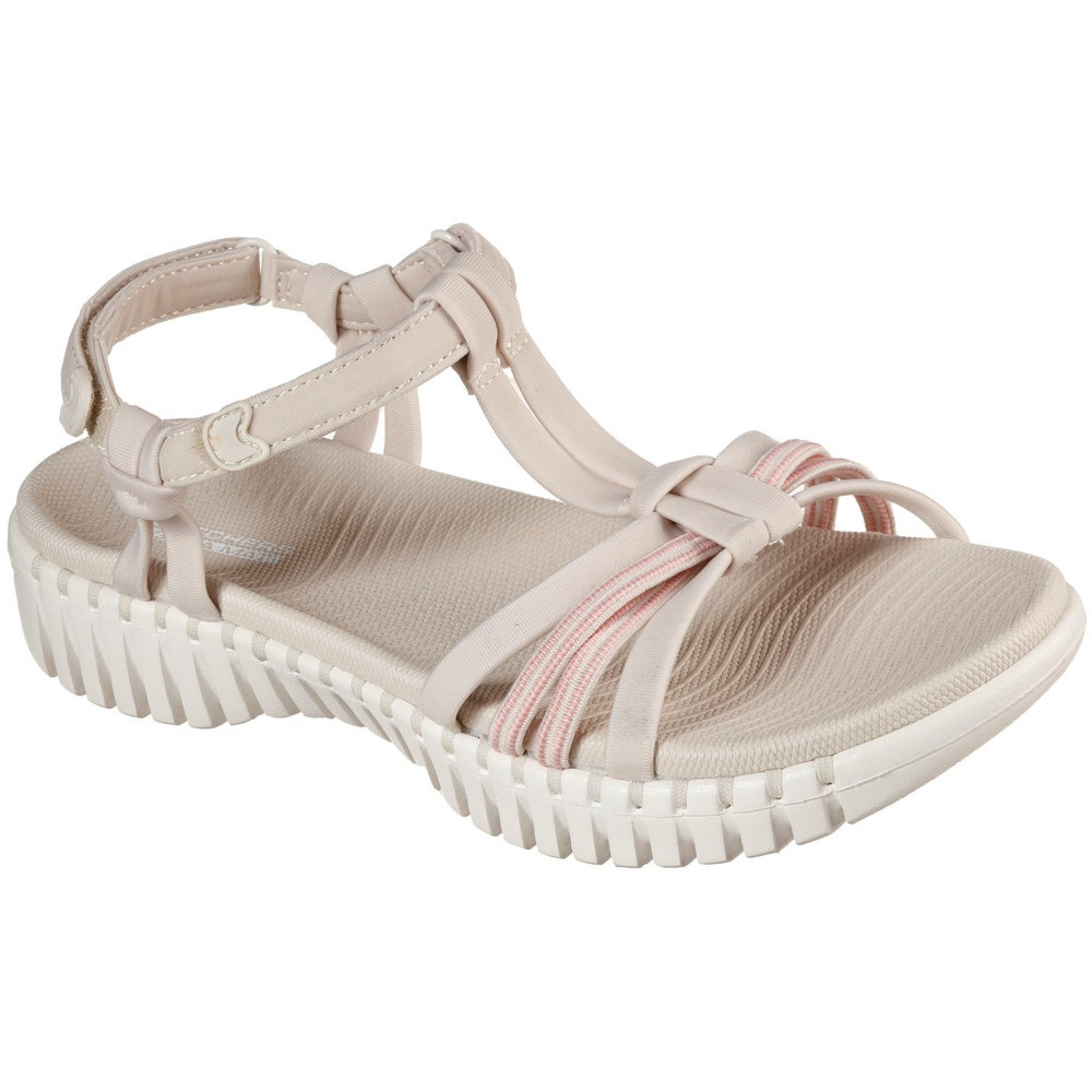 Skechers Womens Go Walk Smart Good Lookin Summer Sandals Uk Size 5 (eu 38)